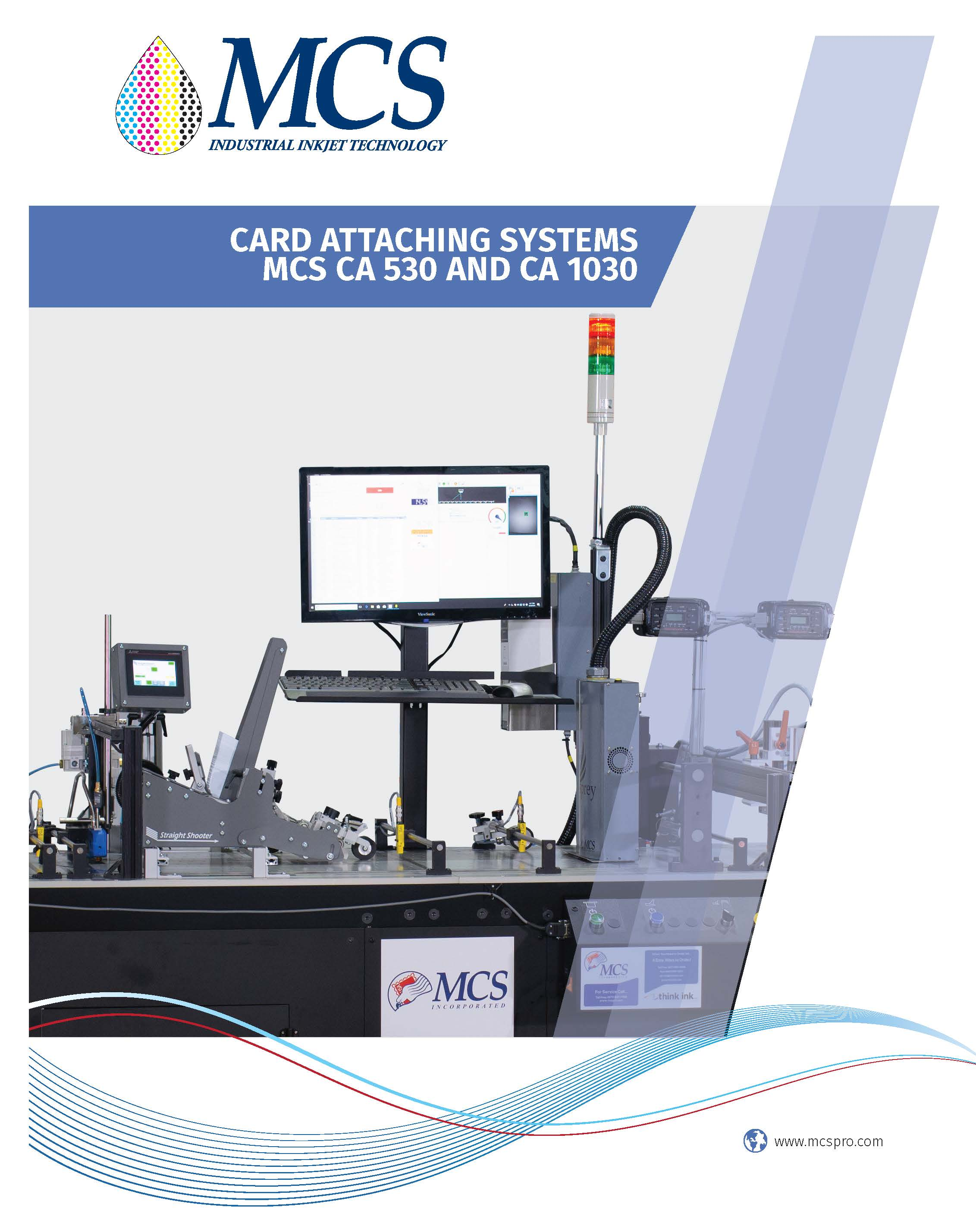 MCS CA 530 and 1030 Card Attaching System