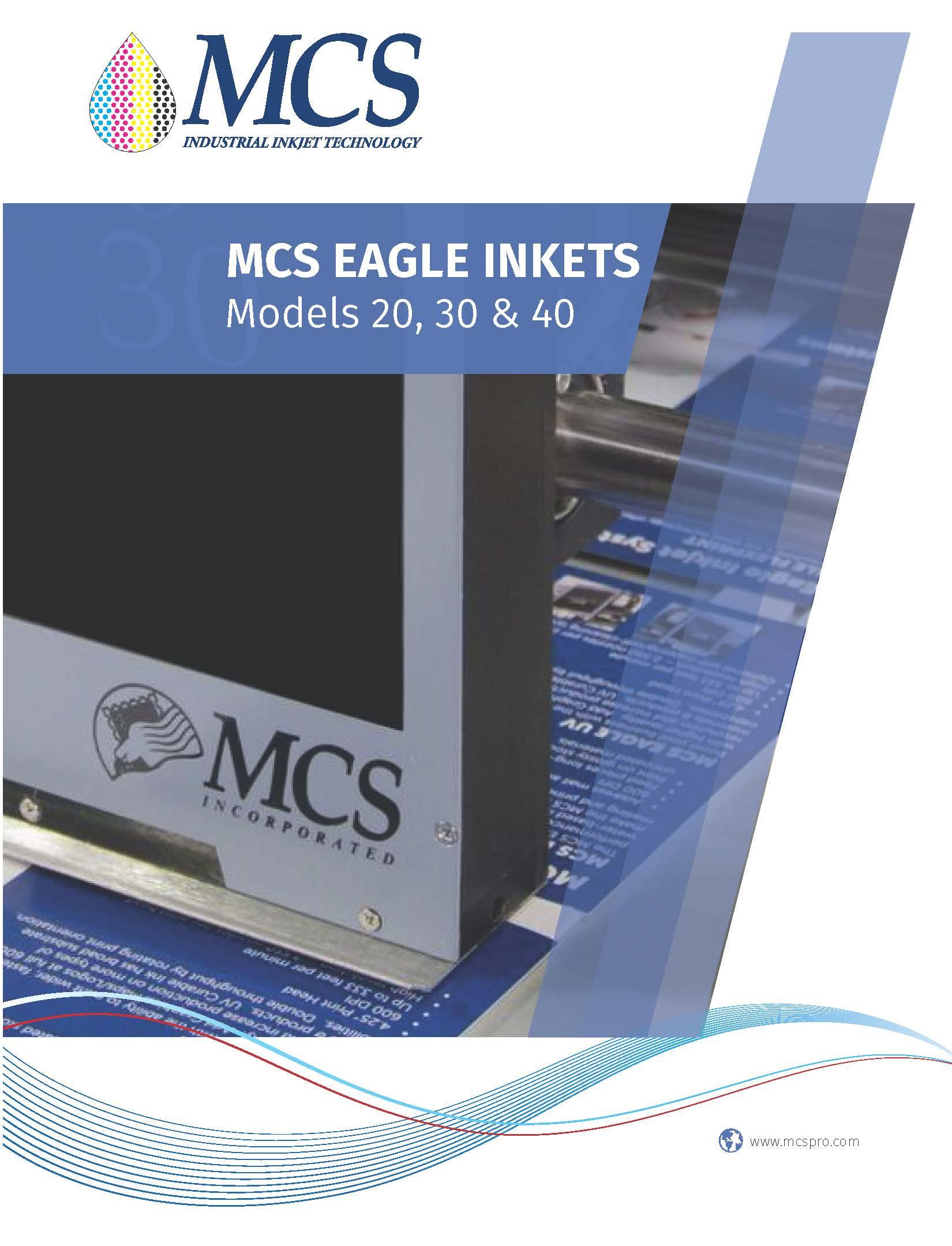 MCS EAGLE 30 INKJET SYSTEM