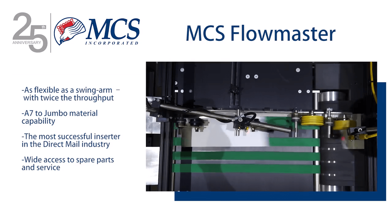 MCS Flowmaster with MCS Condor Color Printer