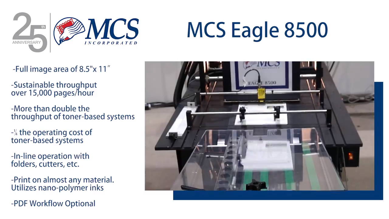 MCS Eagle 8500 Page Printing