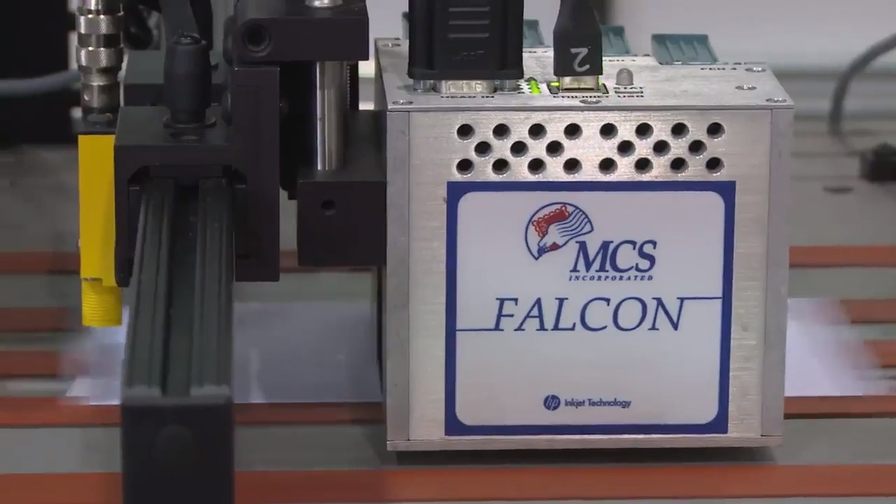 MCS & Think Ink — new MCS Falcon HP system