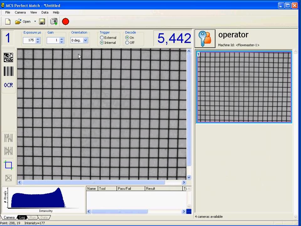MCS Camera Calibration – Geometry