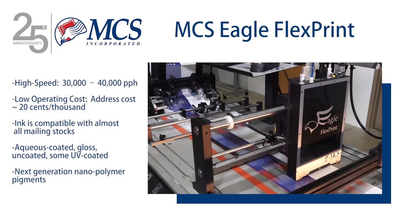 MCS Eagle Flexprint Overview