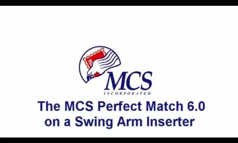 MCS PerfectMatch on Swing Arm Inserter