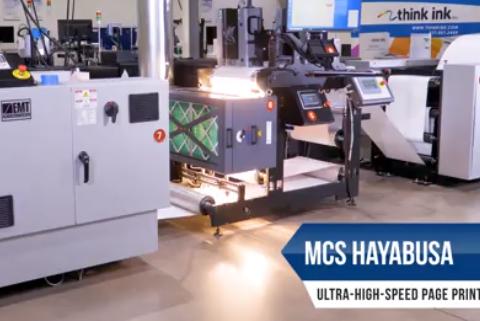 MCS Hayabusa 1000fpm Inkjet